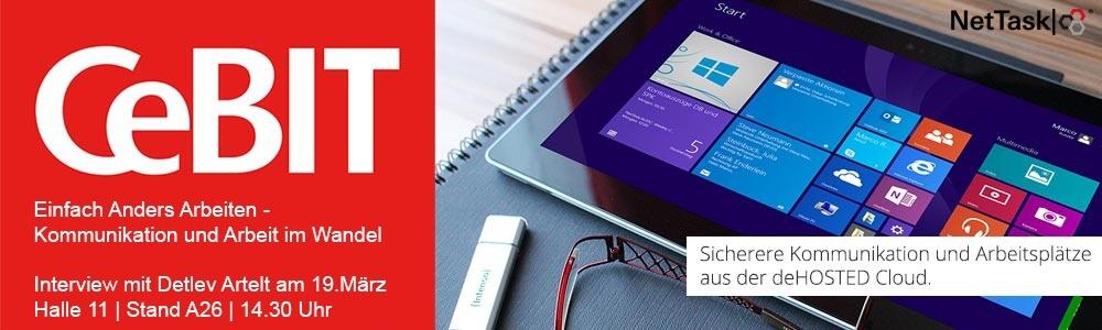 CeBIT 2015 - Kommunikation und Arbeit im Wandel