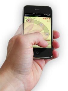 DictaTeam_dictate_on_demand_mobile_schiebeschalter_bewegung