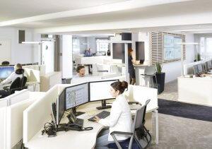 Smartes Büro