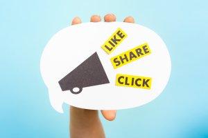 Social Media Interaktion
