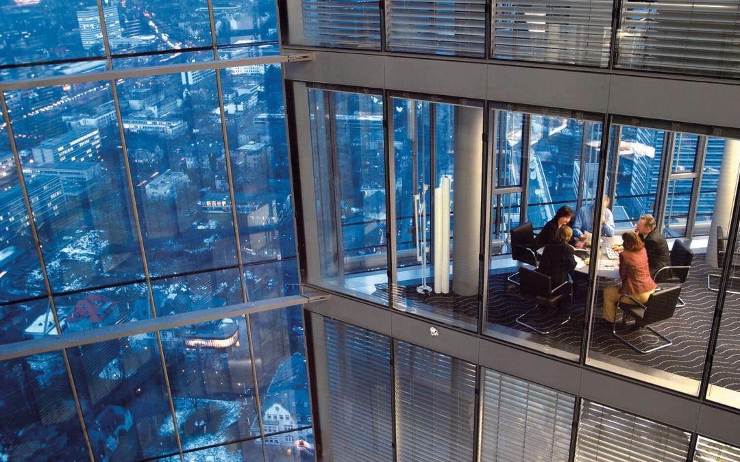 Transparenz im Post-Tower