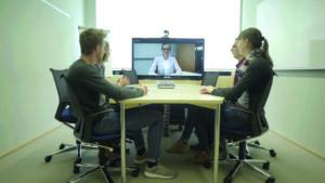 Besprechung per Videokonferenz
