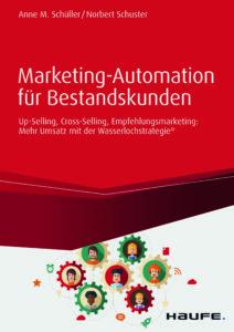 """Buchcover """"Marketing-Automation für Bestandskunden"""""""